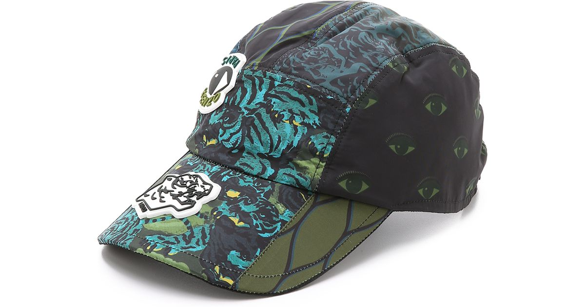 c06a3aa0 KENZO Essentials Flying Tiger Cap in Black for Men - Lyst