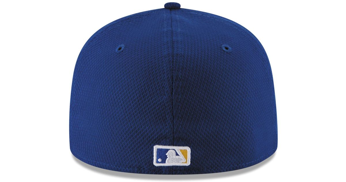 Lyst - KTZ Kids  Milwaukee Brewers Diamond Era 59fifty Cap in Blue for Men 85ac712e6197