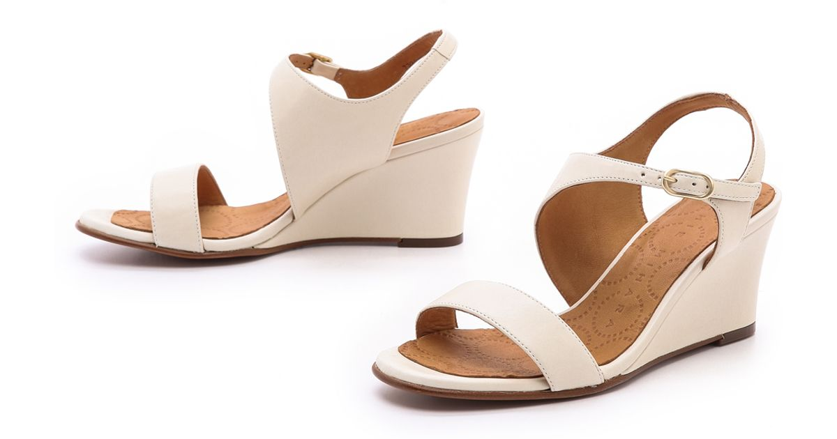 White Wedge Anatour Chie Sandals Mihara Lyst E2eHWID9Y