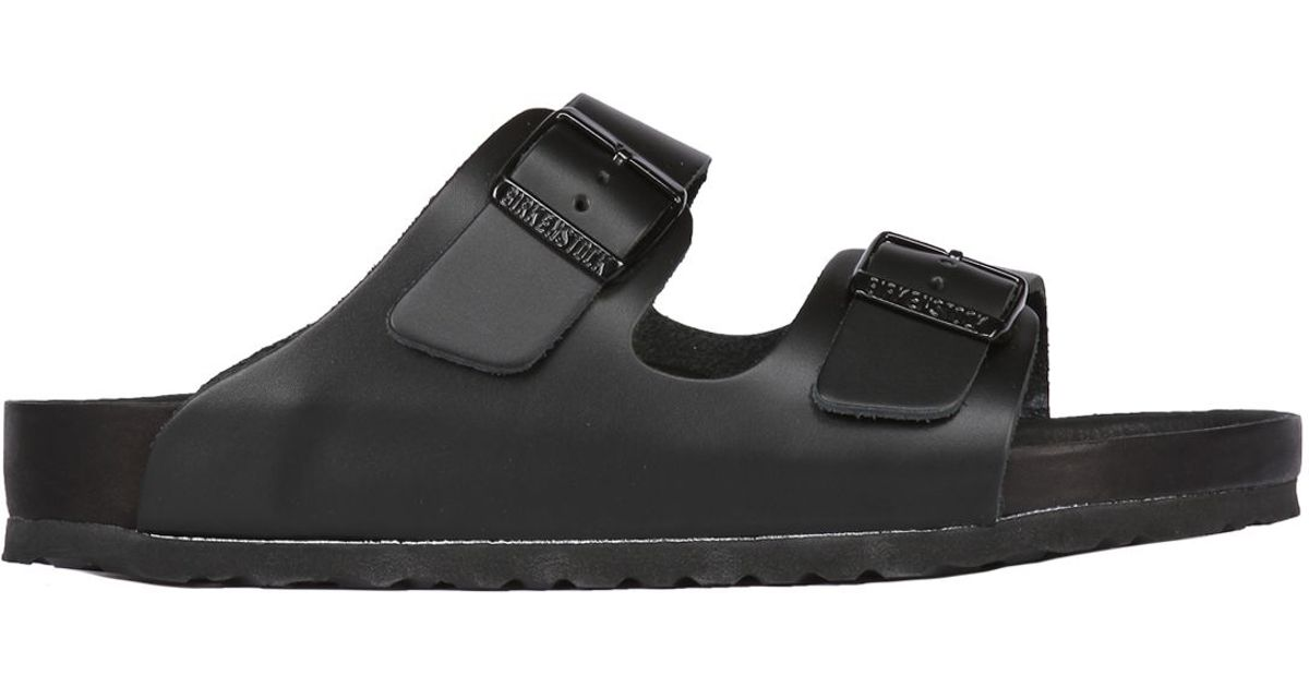 2a6a2d12914 Lyst - Birkenstock Monterey Leather Sandals in Black