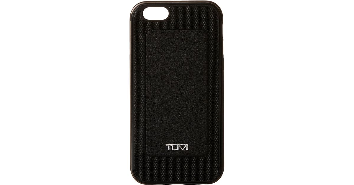 check out e98c1 fce6d Tumi - Black Two Piece Case For Iphone 6 - Lyst