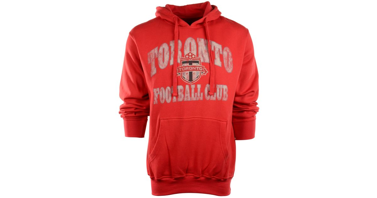 the best attitude 2b21c bdc95 G3 Sports - Red Men's Toronto Fc Fleece Hoodie for Men - Lyst