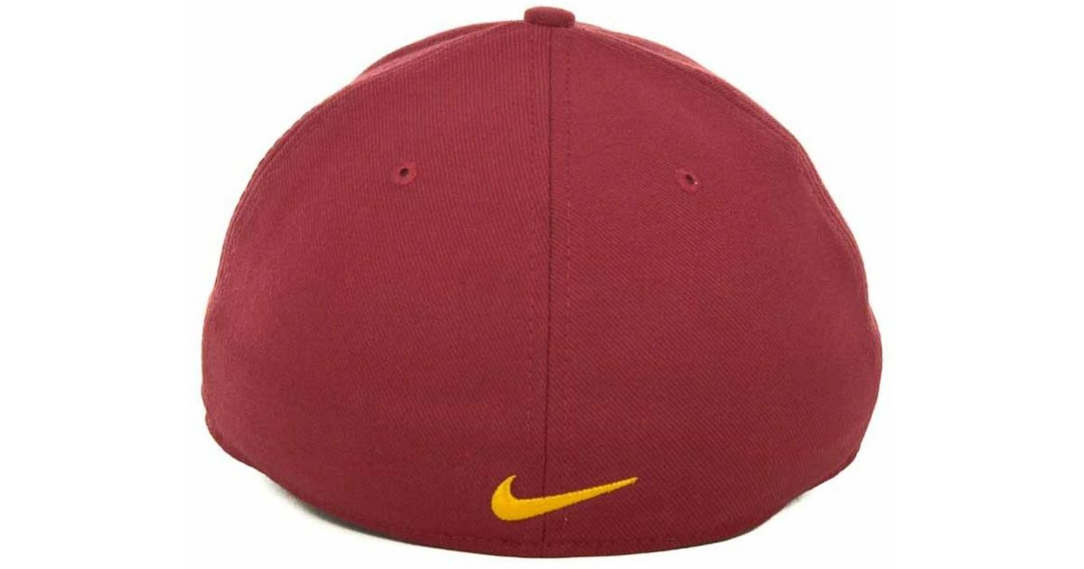 watch 97ab9 28d39 ... get lyst nike usc trojans drifit swoosh flex cap in red for men 13b85  ba103