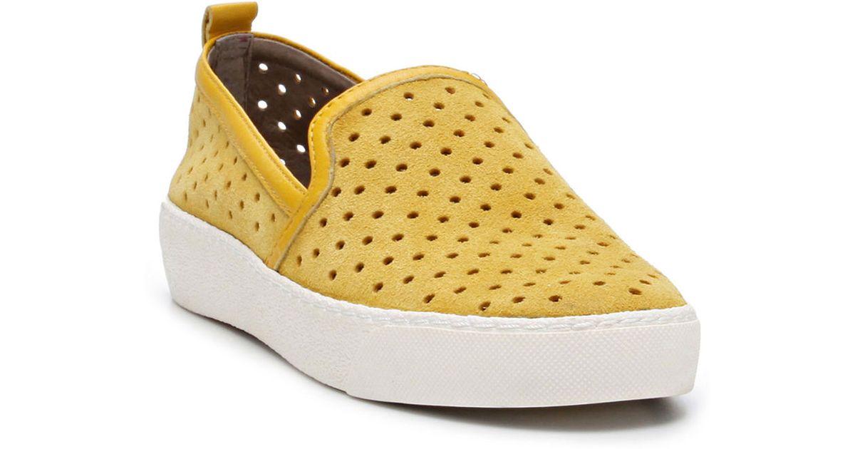 6da4d2ad07749b Lyst - Sam Edelman Bea Suede Slip-On Sneakers in Metallic