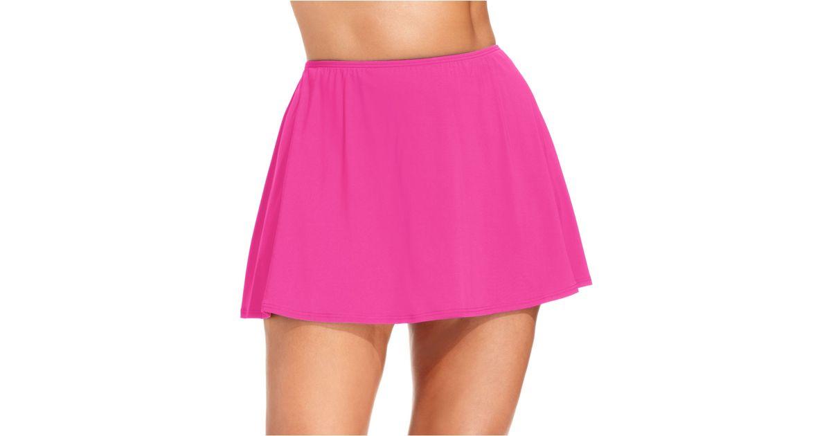 Pink Swim Skirt 64