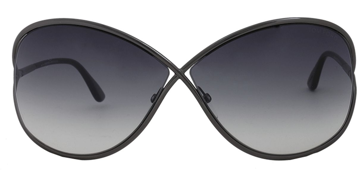 a6603689ac9 Lyst - Tom Ford Miranda Sunglasses in Black