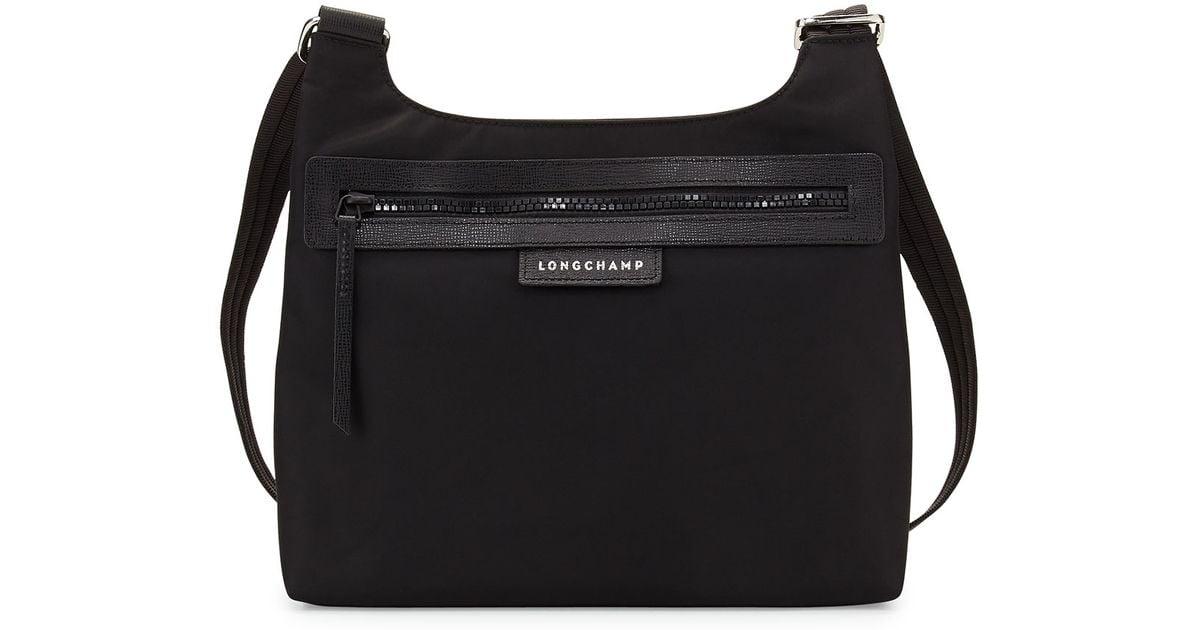 a52c0e76ffc2 Lyst - Longchamp Le Pliage Neo Crossbody Bag in Black