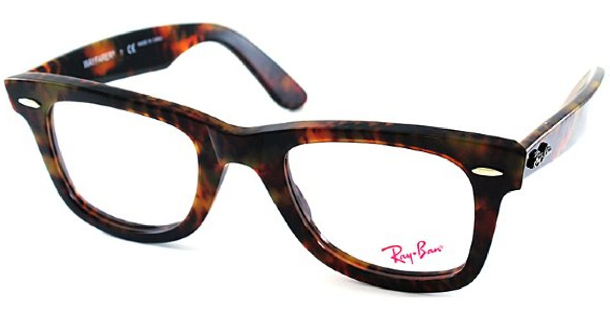 581abe0658 ... czech lyst ray ban ray ban rx5121 original wayfarer 2291 light tortoise  plastic eyeglasses 47mm in