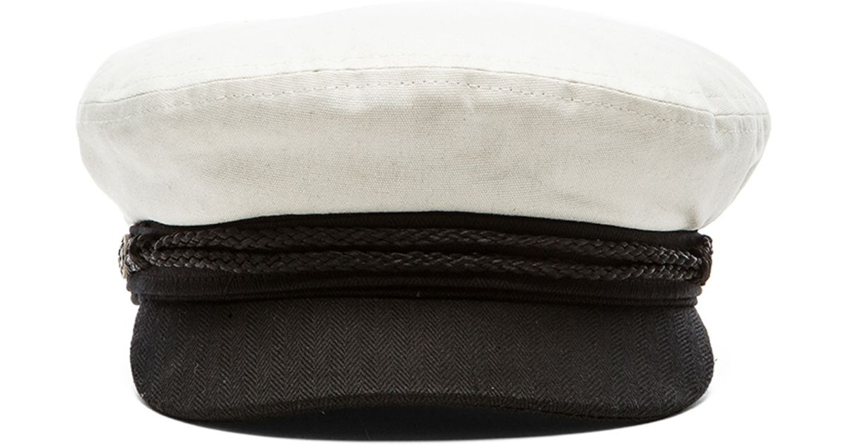 48014b91f9f8a2 ... coupon code for lyst brixton fiddler cap in white for men b49e1 dd02c