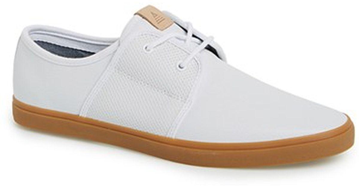 f5ed8011c4eb Lyst - ALDO  sturges  Leather Sneaker in White for Men