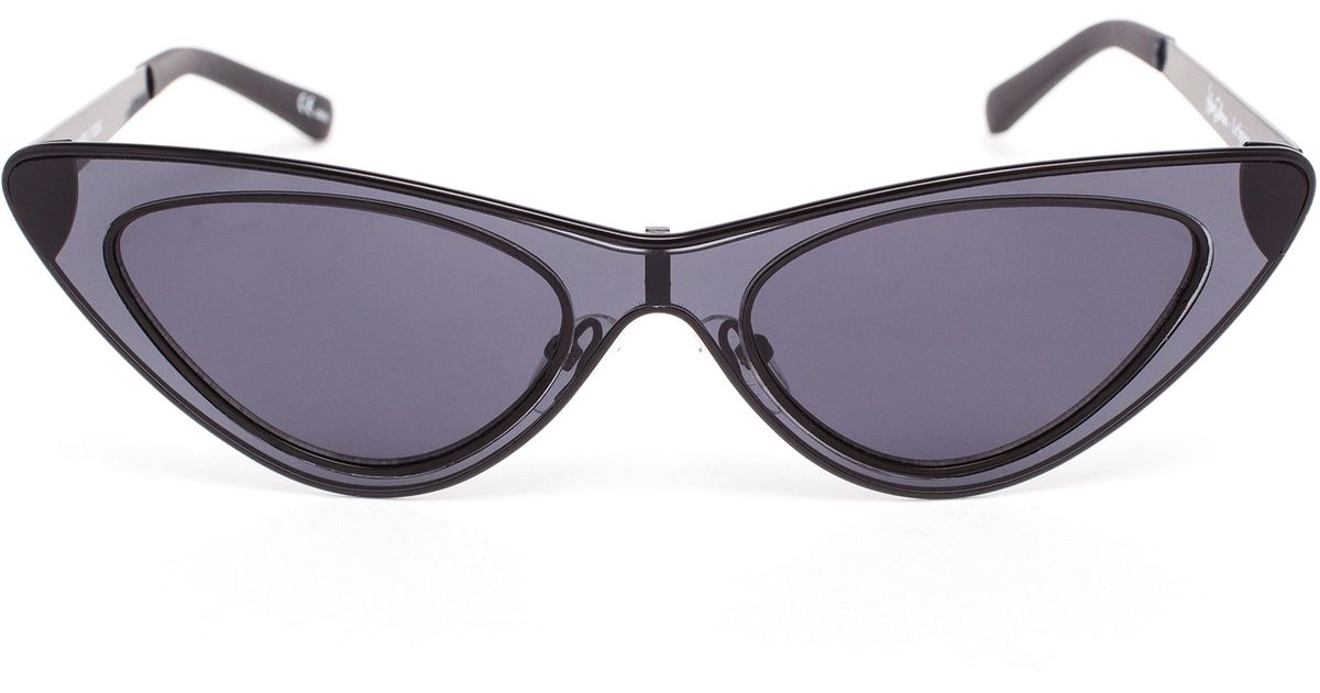 68e7dc3f326 Lyst - Adam Selman The Last Lolita Sunglasses in Blue