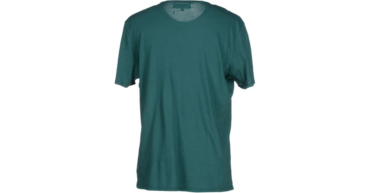 Groceries t shirt in green for men emerald green save Emerald green mens dress shirt