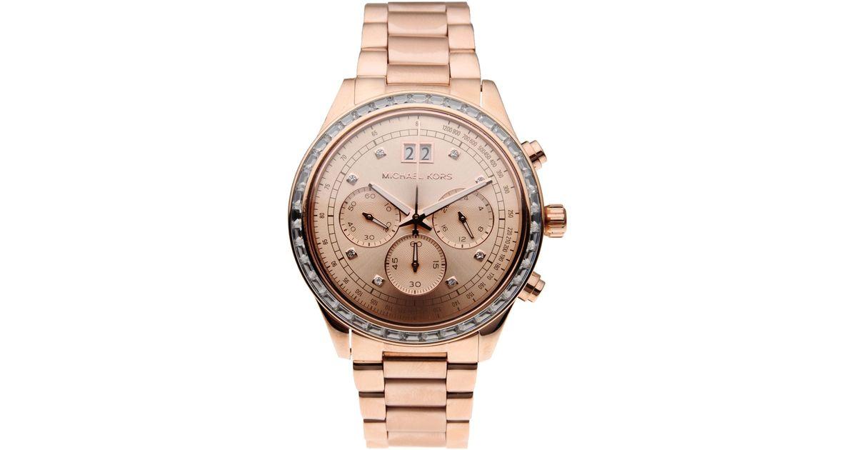 d60ad1d7a17c Lyst - Michael Kors Wrist Watch in Pink