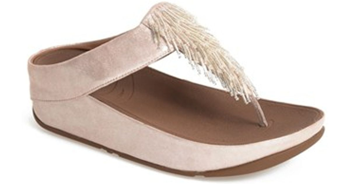 e17d6c323 Lyst - Fitflop  cha Cha  Flip Flop in Pink