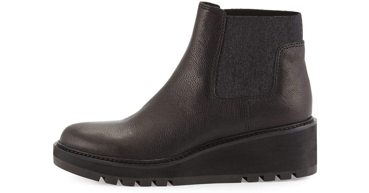 Womens Boots eileen fisher black suede peer sw8m65b3