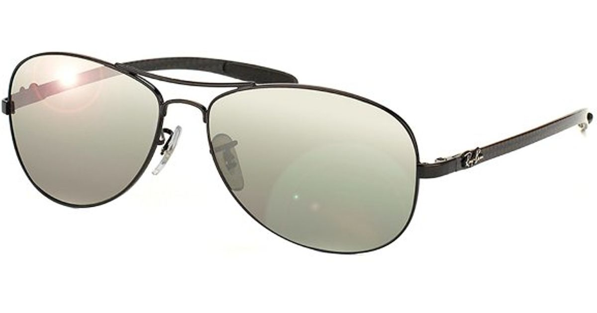 c94c866ab ... good lyst ray ban ray ban tech rb 8301 002 k7 carbon fiber cockpit  sunglasses in