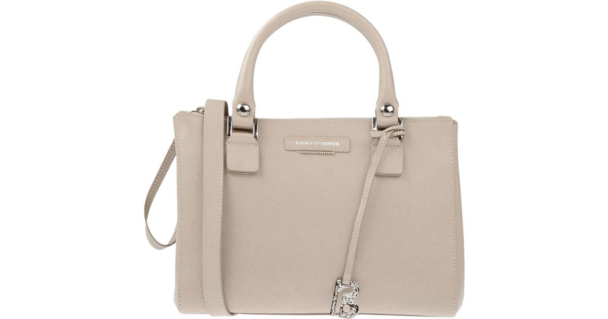 9e7e18ac5c30 Lyst - Francesco Biasia Handbag in Natural