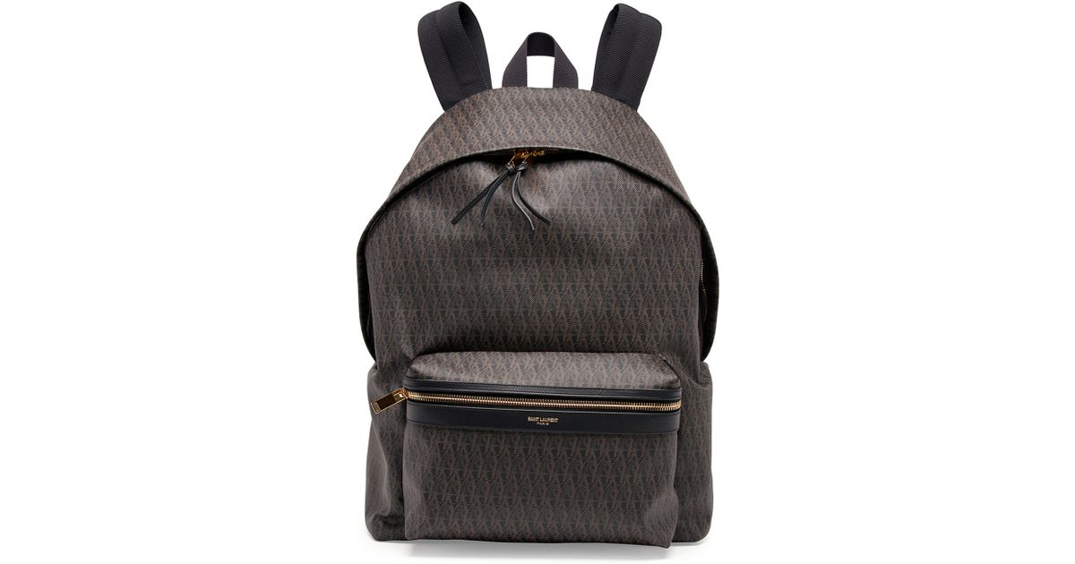 yves saint laurent prices - saint-laurent-black-mens-ysl-logo-printed-leather-backpack-product-0-735624744-normal.jpeg