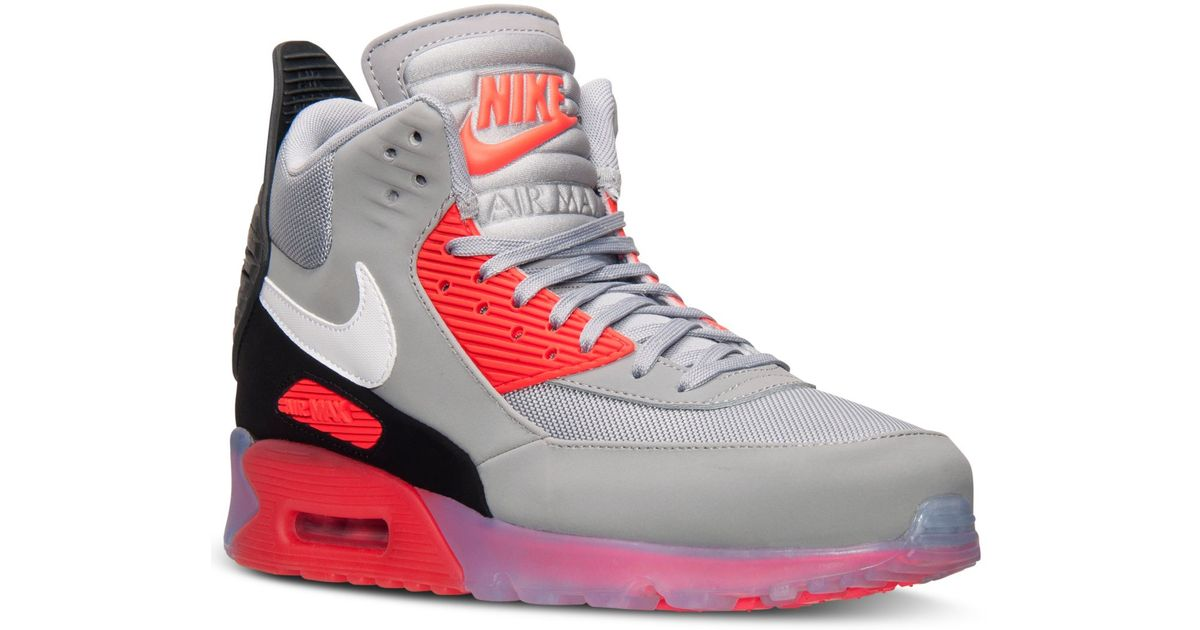 sports shoes d18a2 31667 Nike Men S Air Max 90 Sneakerboot Ice From Finish Line in Gray for Men -  Lyst