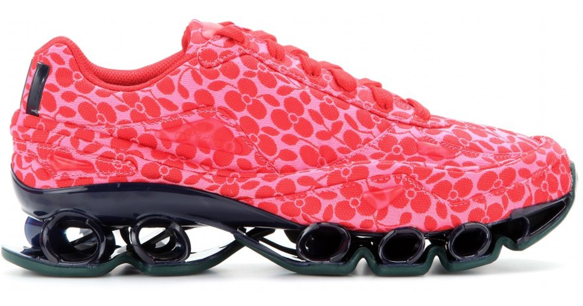 b93e09a0694ab adidas By Raf Simons Bounce Floral Jacquard Sneakers in Pink - Lyst