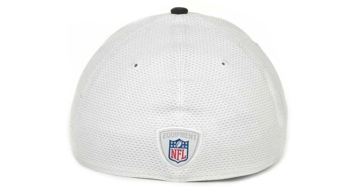 5cf49cc3f2e Lyst - KTZ Pittsburgh Steelers 2013 Training Camp 39thirty Cap in White for  Men