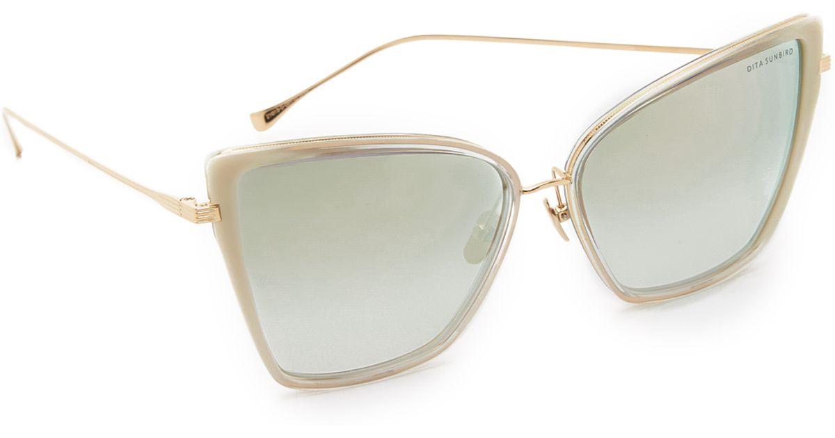 5559e512cd3 Gallery Source · Dita Sunbird Sunglasses in Gray Lyst