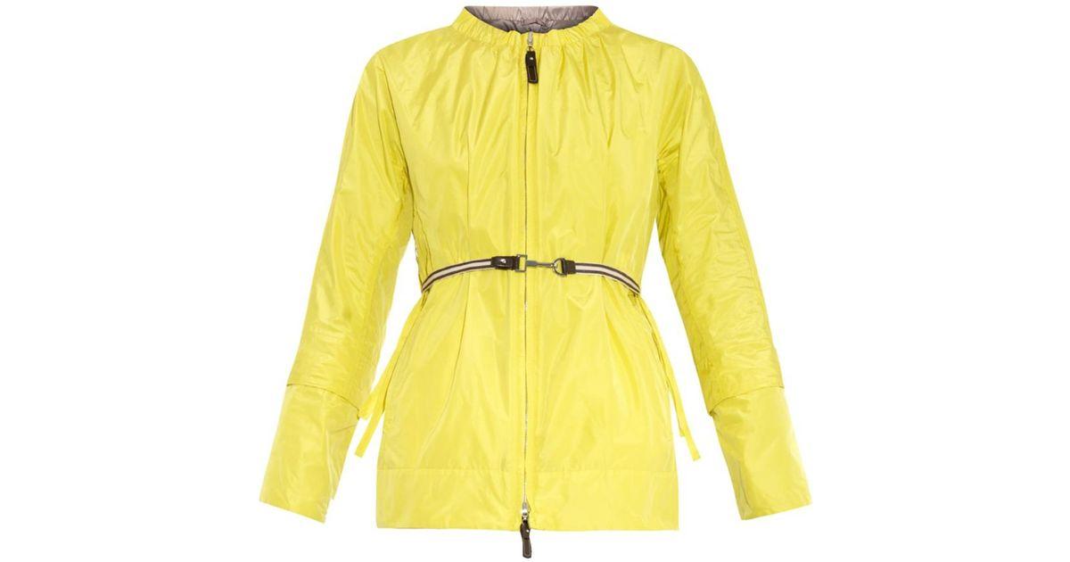 's max mara Lightb Reversible Coat in Yellow | Lyst