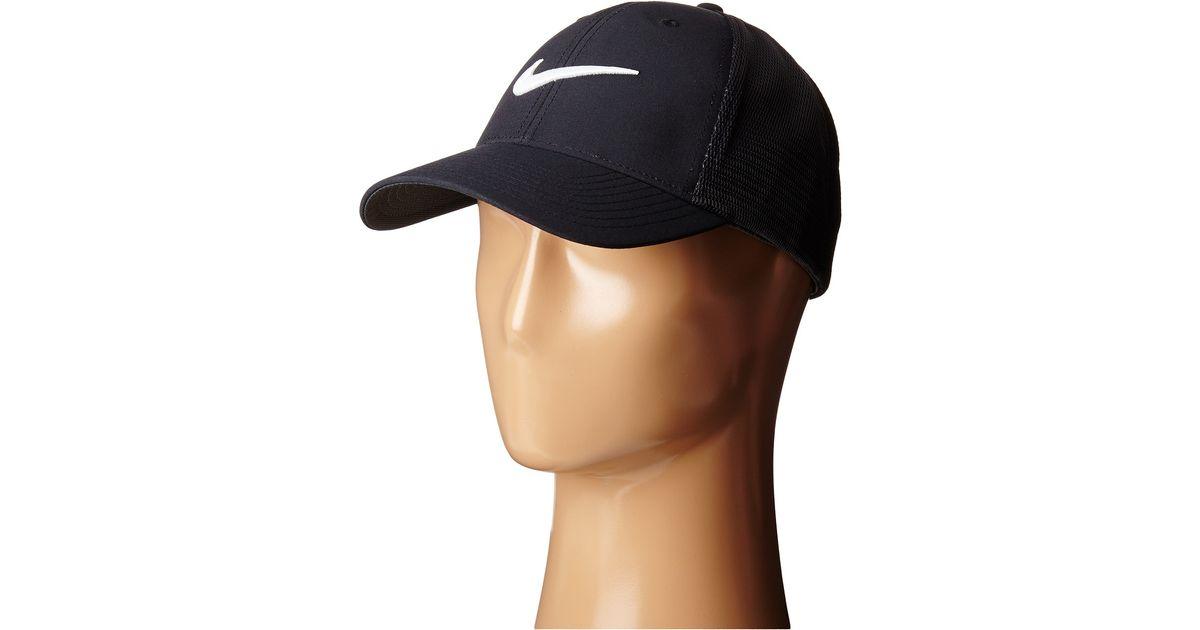 Lyst - Nike Legacy 91 Tour Mesh Cap in Black for Men aef441eeb1c