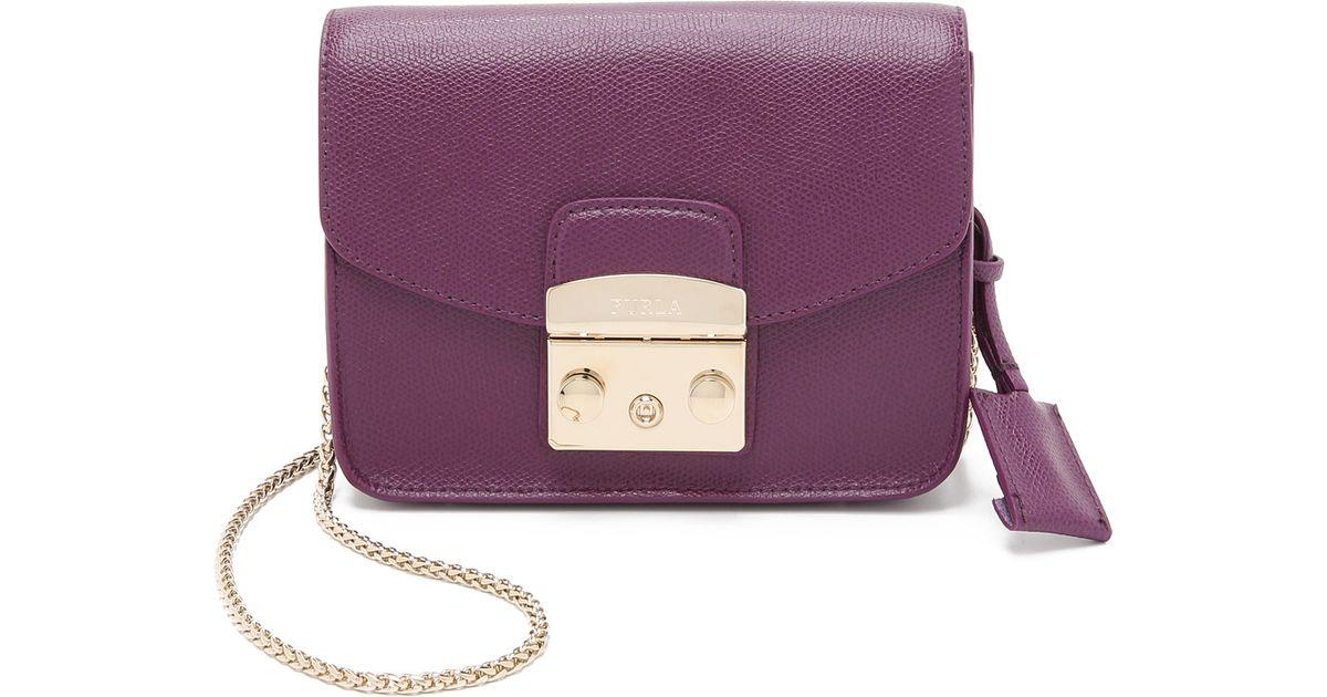 mini Metropolis bag - Pink & Purple Furla HBNop3X6