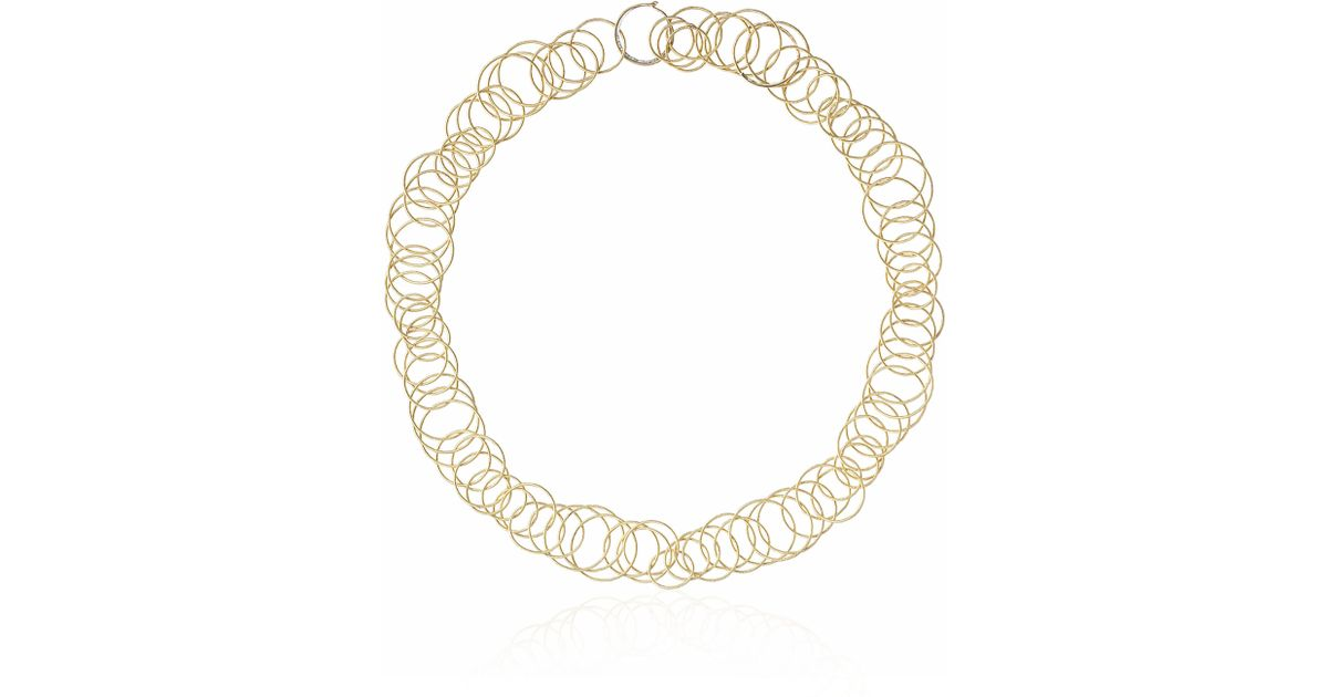 0da0bbc64 Lyst - Buccellati 18k Gold Hawaii Short Necklace in Metallic