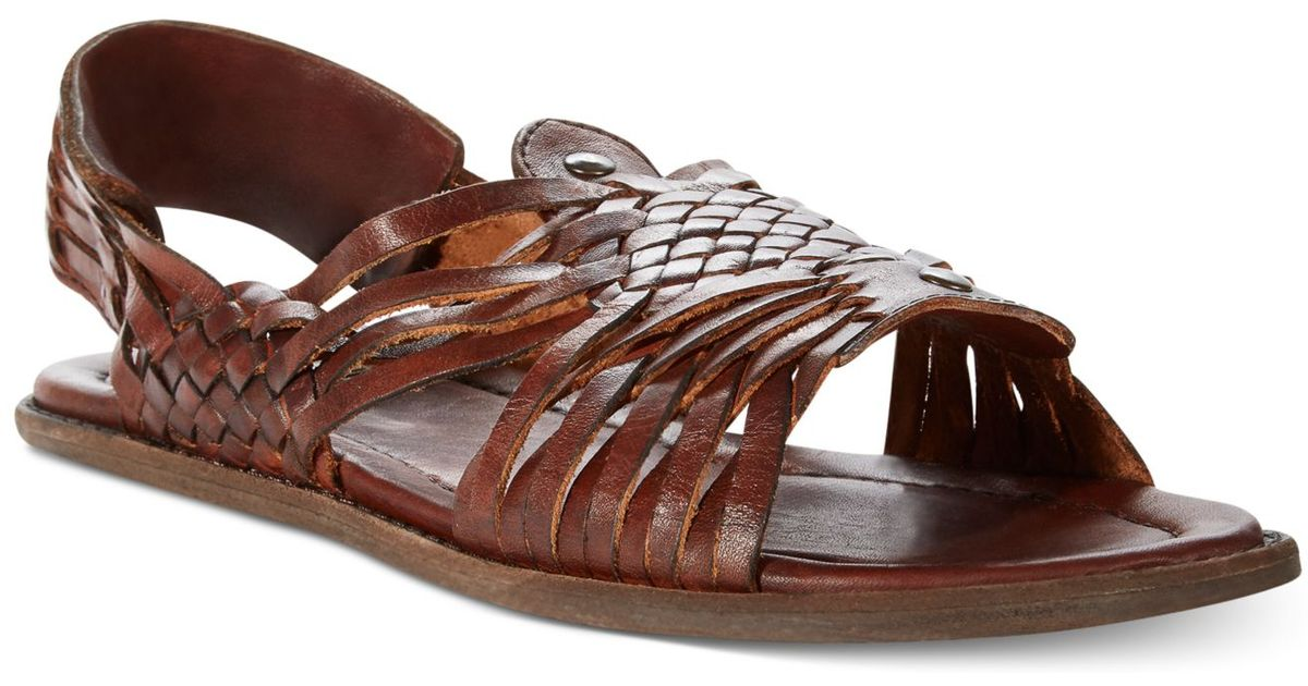 64176411e22 Lyst - Frye Lawson Huarache Sandals in Brown for Men