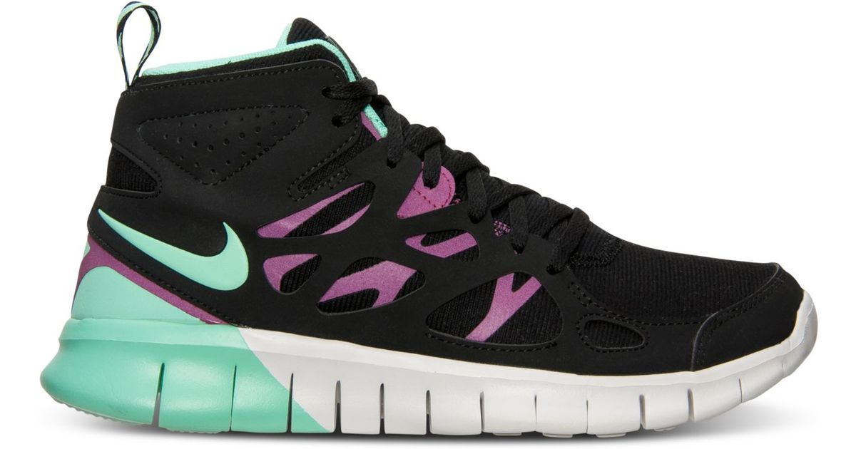 new styles 05b39 96cc0 Lyst - Nike WomenS Free Run 2 Mid Sneakerboot From Finish Li