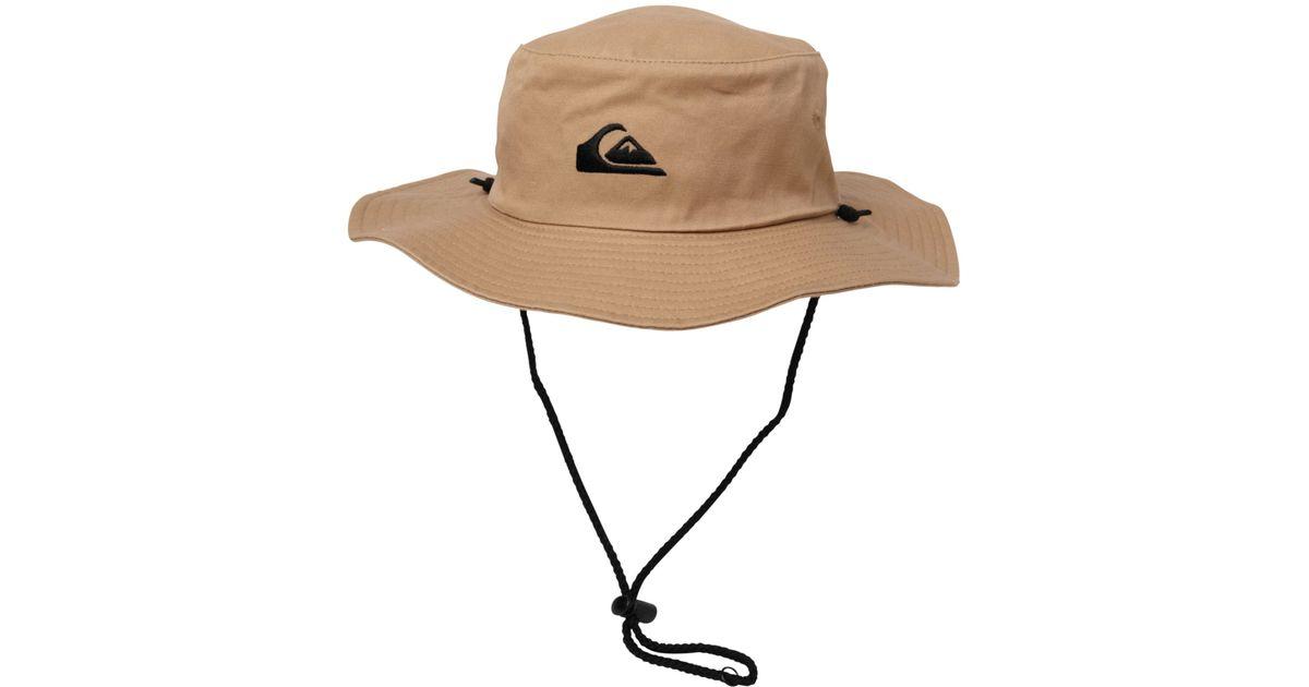 85edf33e4bc53e Quiksilver Bushmaster Hat in Natural for Men - Lyst
