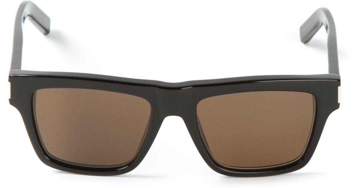 5acf09c05a2 Lyst - Saint Laurent Bold 5 Sunglasses in Black for Men