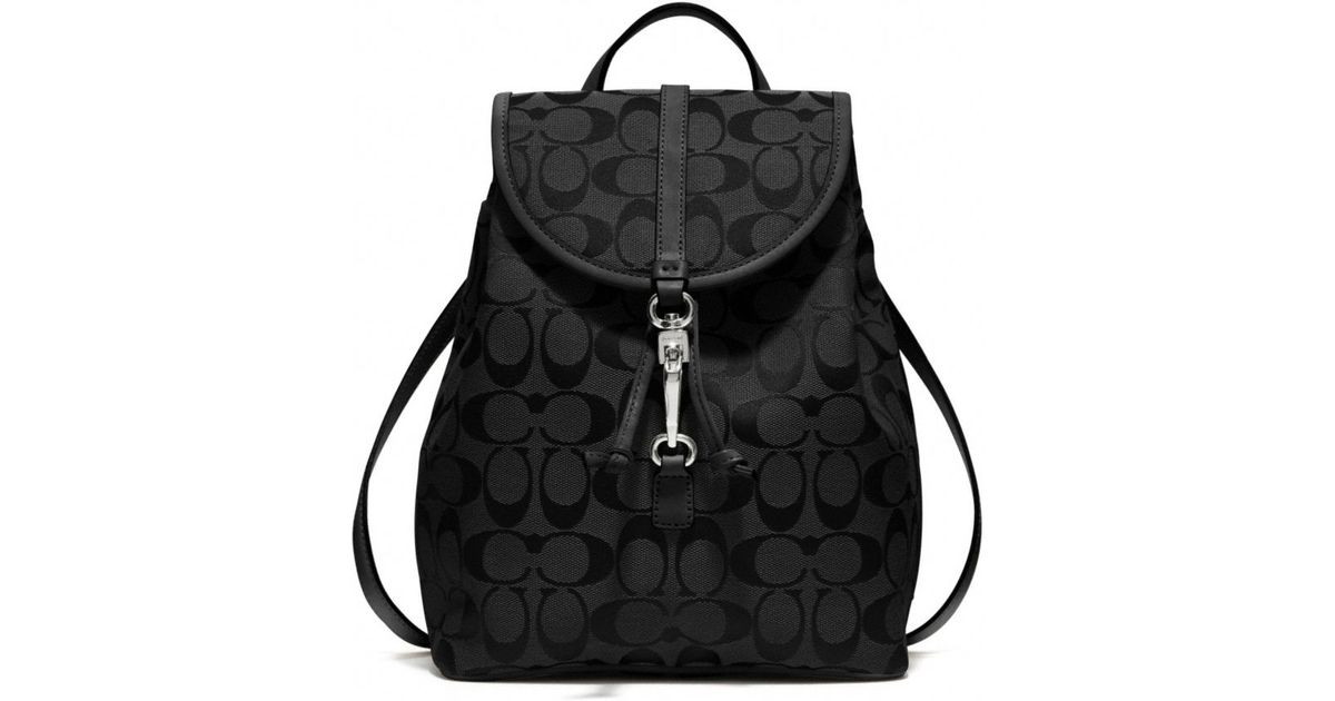 045bee312 ... coupon for lyst coach signature small backpack in black 89874 92923 ...