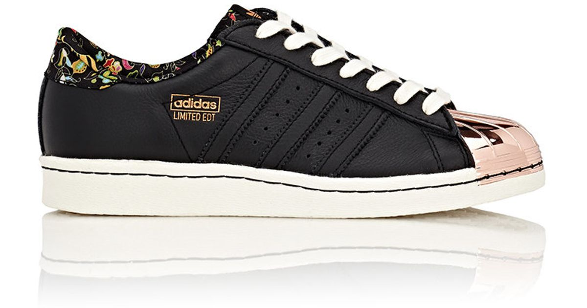 separation shoes 08660 897b6 Adidas Originals - Black Women's Limited Edt Superstar 80v Sneakers - Lyst