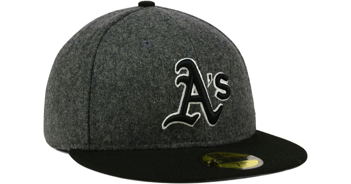 low priced 177a2 ed8d7 Lyst - KTZ Oakland Athletics Shader Melt 59fifty Cap in Gray for Men
