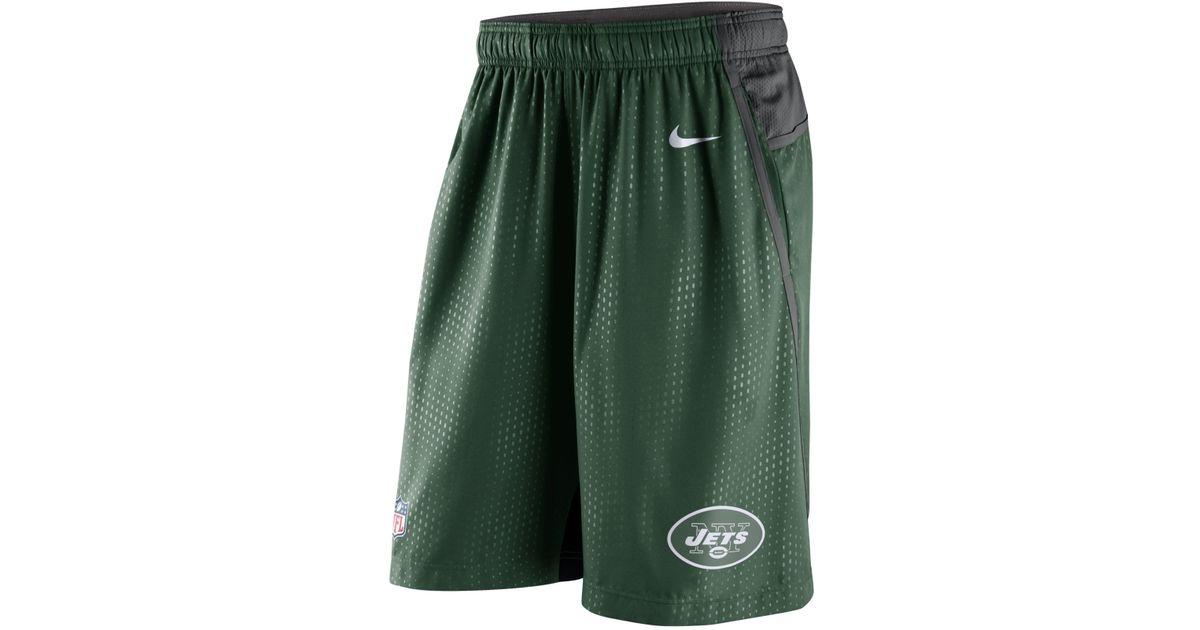 48fdac0d Nike - Green Men's New York Jets Dri-fit Fly Xl 3.0 Shorts for Men - Lyst