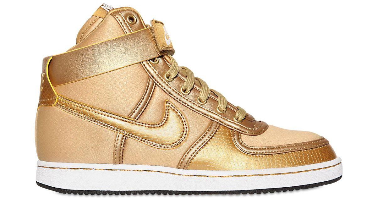 Lyst - Nike Vandal High Top Sneakers in Metallic for Men 6fc73d9ce