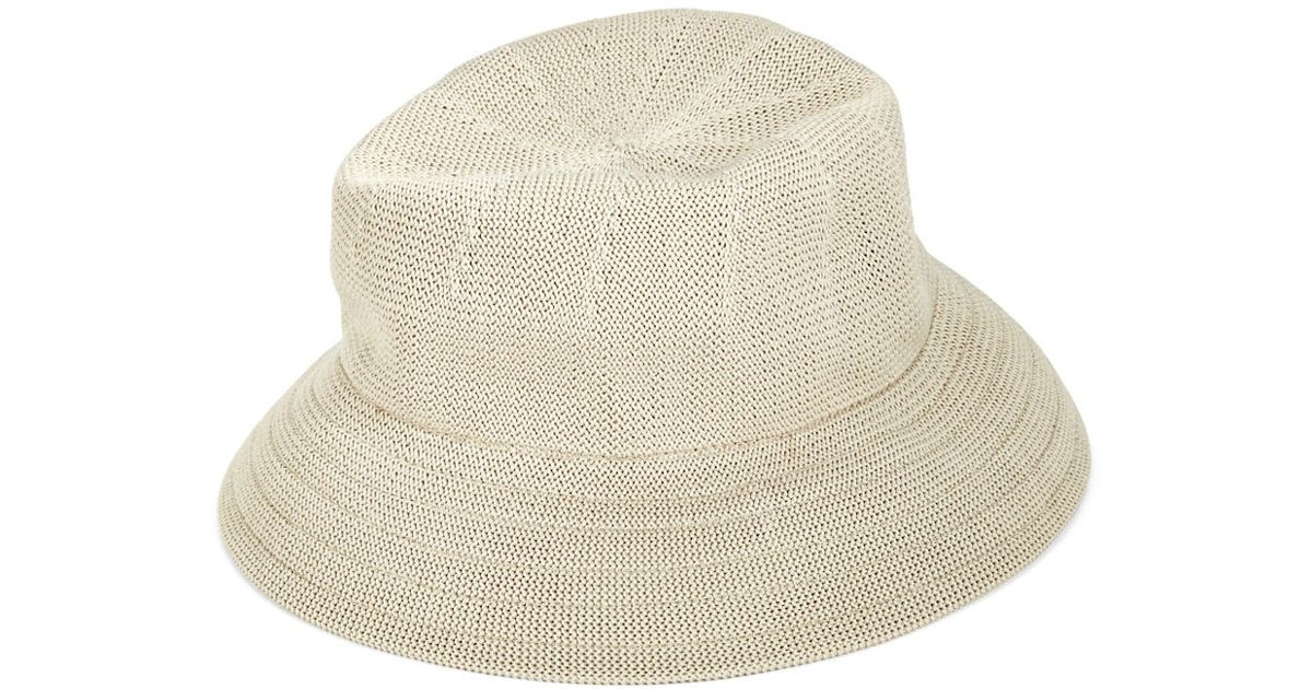 Parkhurst Woven Bucket Hat in Natural - Lyst f4b5a0b57e6