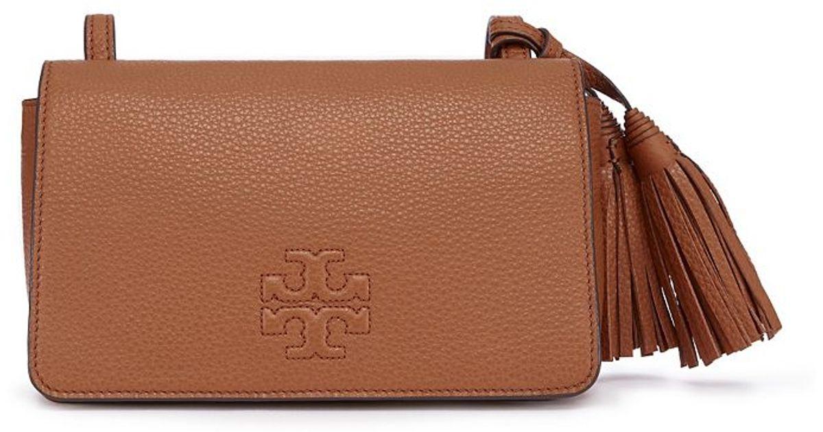 46d1a4e52bc4 Lyst - Tory Burch Thea Mini Bag in Brown