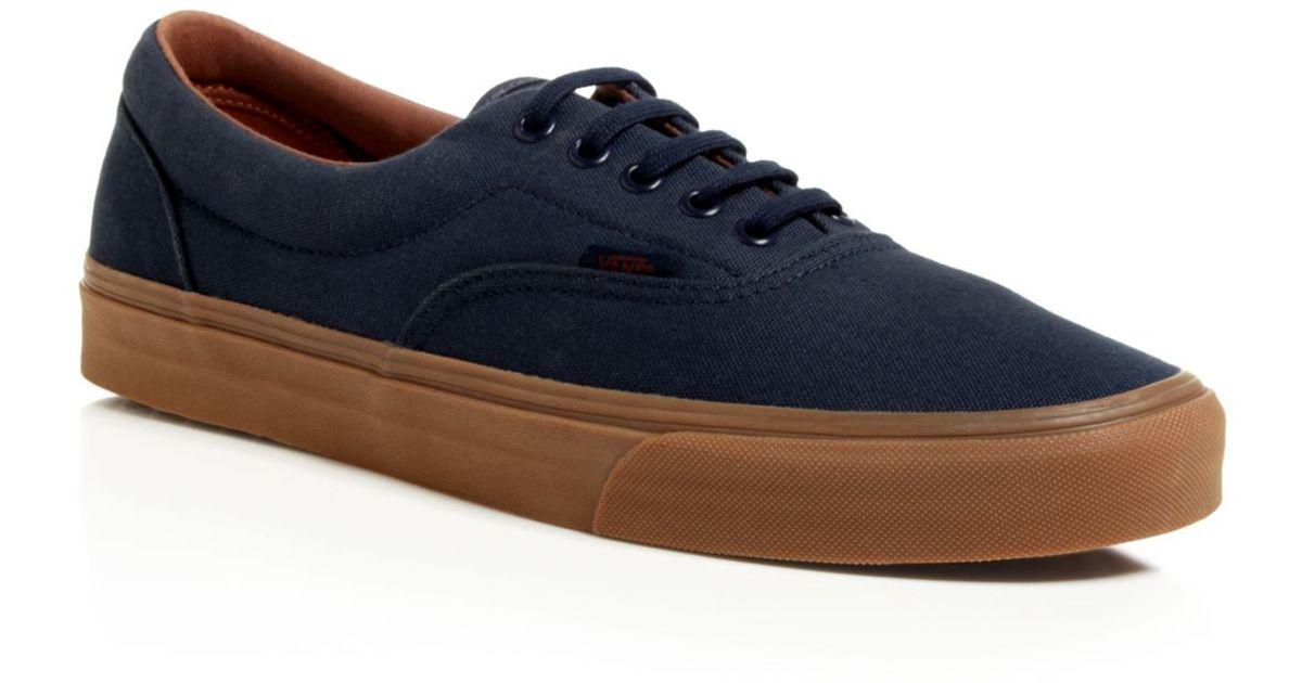 6caee095f96b2c Lyst - Vans Era Gum Sole Sneakers in Blue for Men