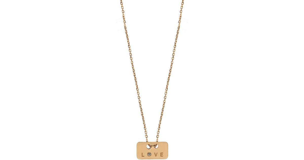 Sakura necklace 750 gold and diamonds Vanrycke xINoLAqP