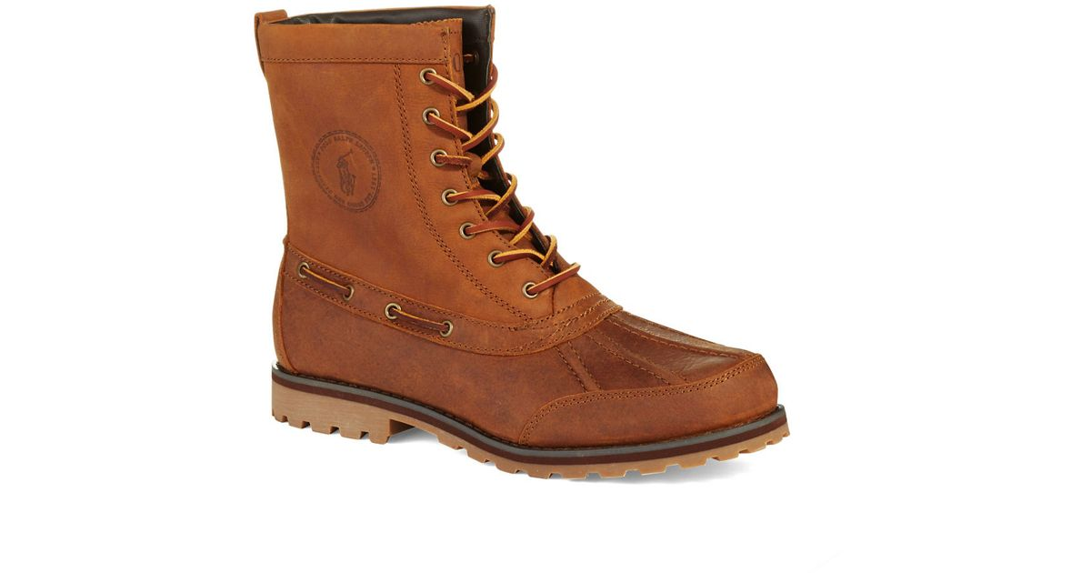 new styles 73efc 9d3f6 Polo Ralph Lauren Whitsand Boots in Brown for Men - Lyst