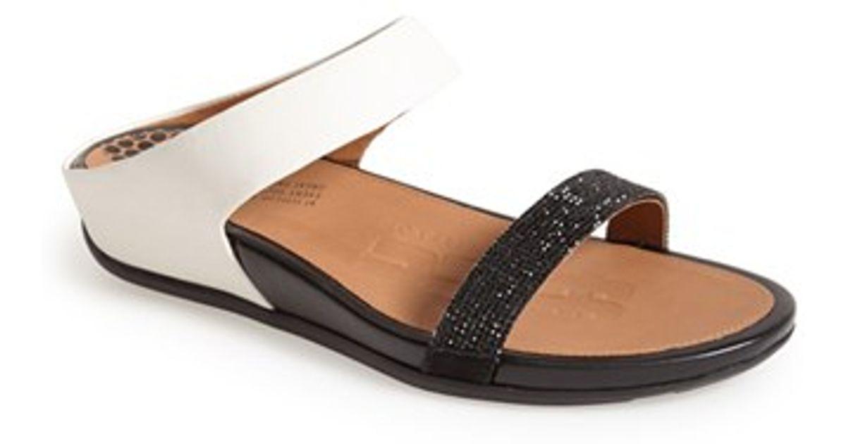 6f158e72b Lyst - Fitflop  banda  Slide Sandal in Black