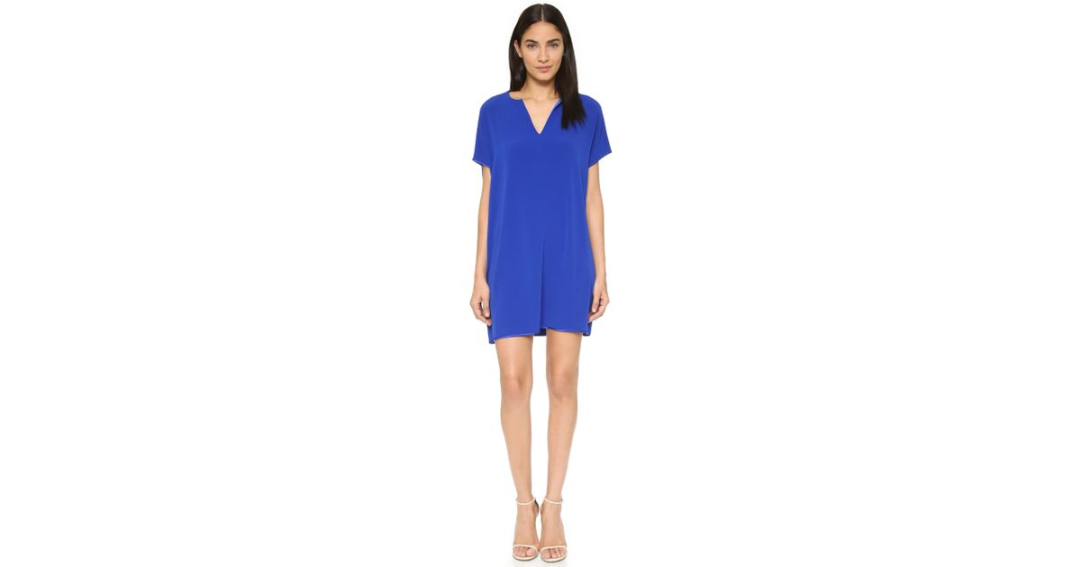 c5bdeb2c0de7 Lyst - Diane von Furstenberg Kora Dress - Cosmic Cobalt in Blue