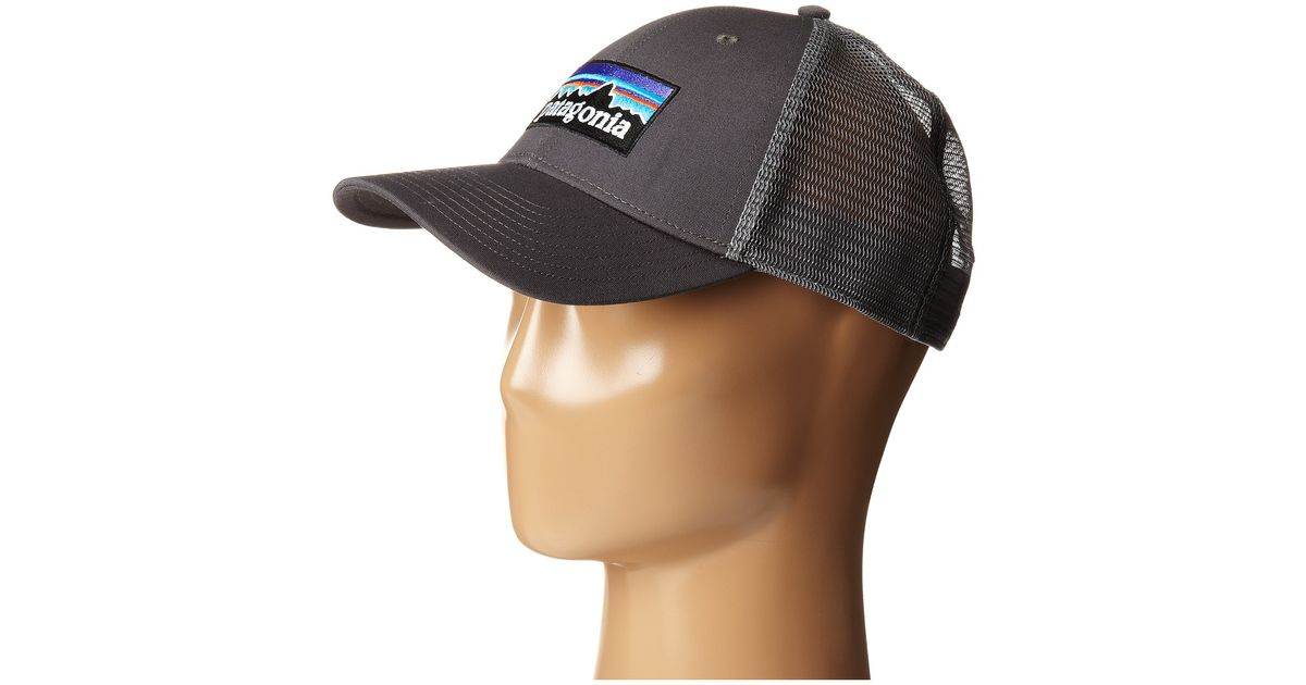 0ee3b08d6a7 Lyst - Patagonia P6 Lopro Trucker Hat in Gray for Men