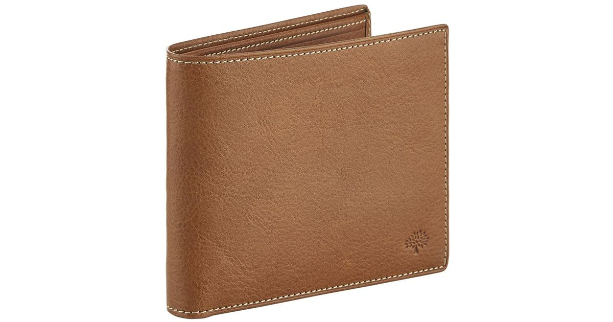 315e5ac4fb Mulberry Leather Bifold Wallet in Brown for Men - Lyst