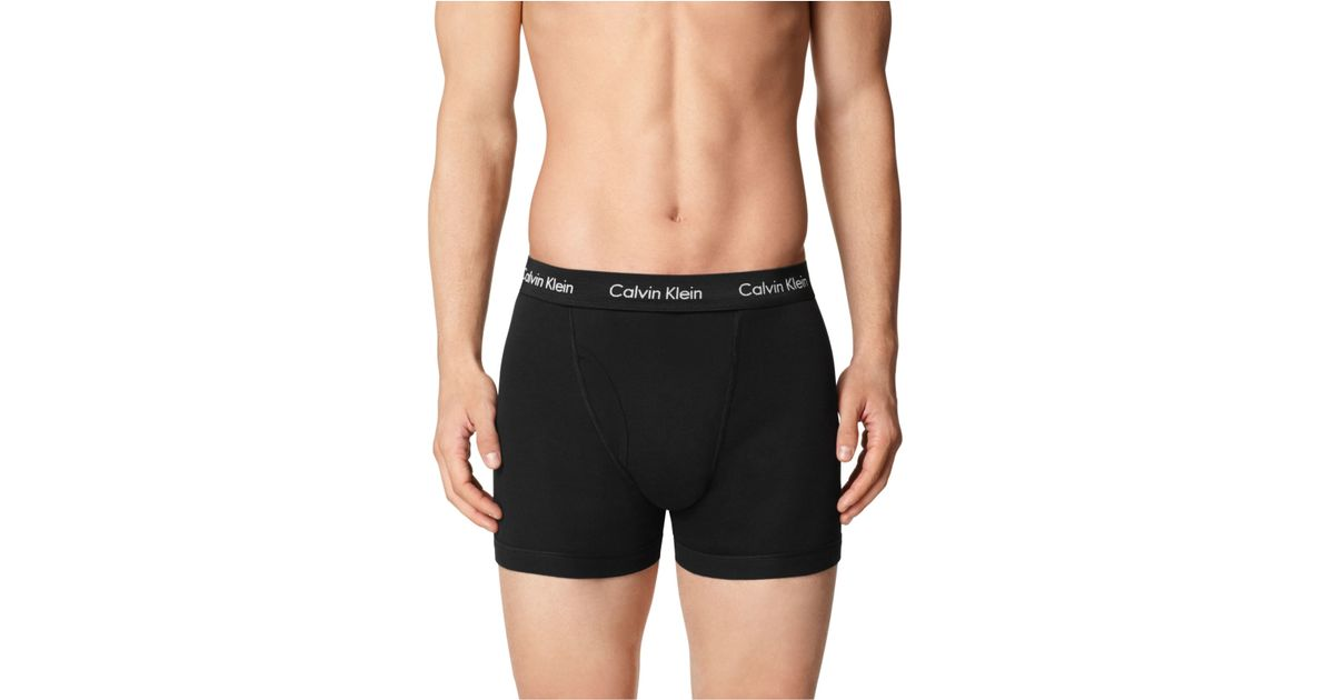 3e522326bce0 Calvin Klein Men's Boxer Briefs 3+1 Pack - A Macy's Exclusive in Black for  Men - Lyst