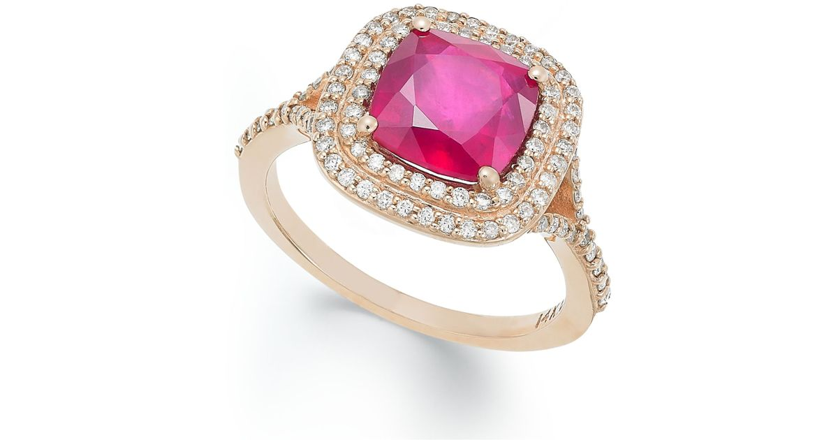 Effy Collection Rosa By Effy Ruby 3 1 8 Ct T W And